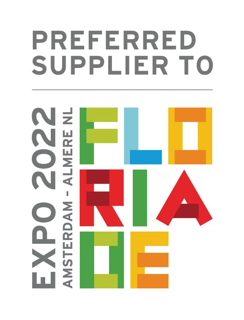 Preferred Supplier to Floriade Expo 2022